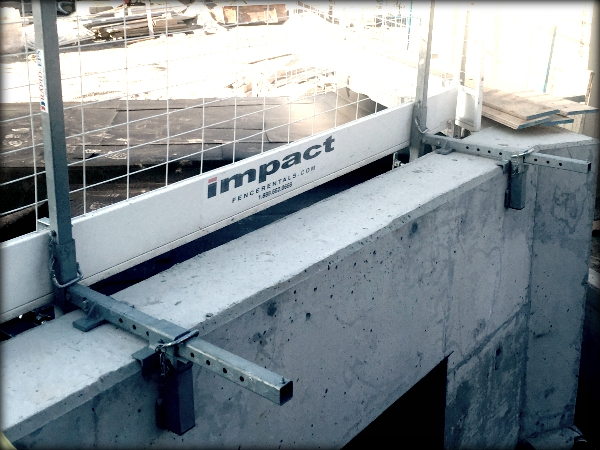 Edge Protection Systems Impact Fence Rentals Inc