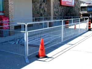 4 Foot Temporary Fence Crowd Control Barrier