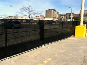 6 Foot Temporary Fence with Liner